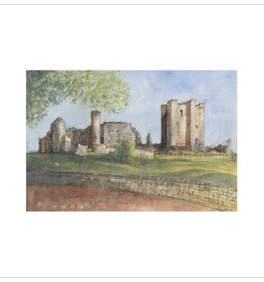Conisbrough Castle by John Bird