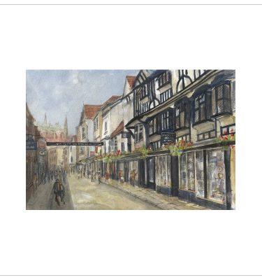 York -Stonegate by John Bird