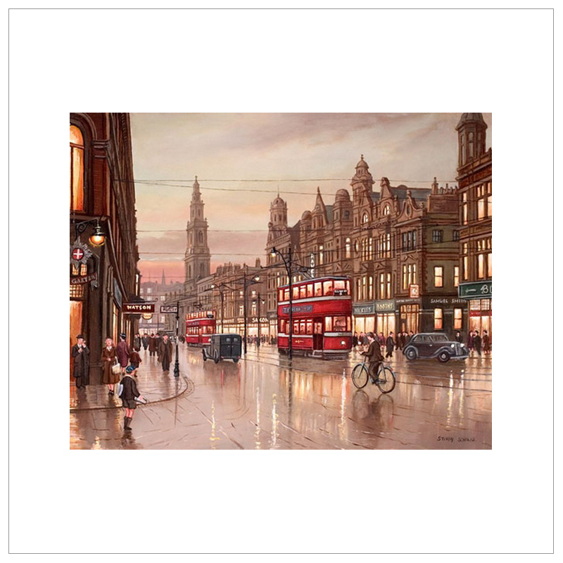Evening Papers Duncan St Leeds by Steven Scholes