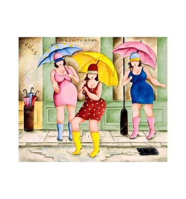 Singing in the Rain by Elaine Cooper