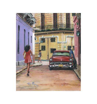 Havana Girl 3 by Tony Byrne