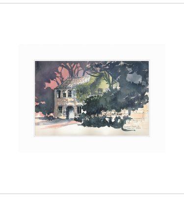 Derelict Barn by Margaret Clarkson
