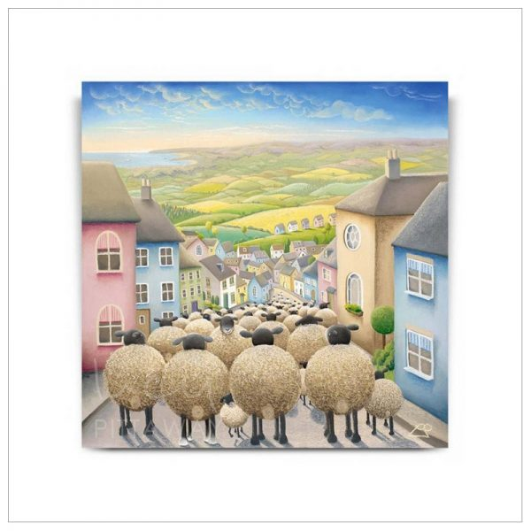 Yorkshire Rush Hour by Lucy Pittaway