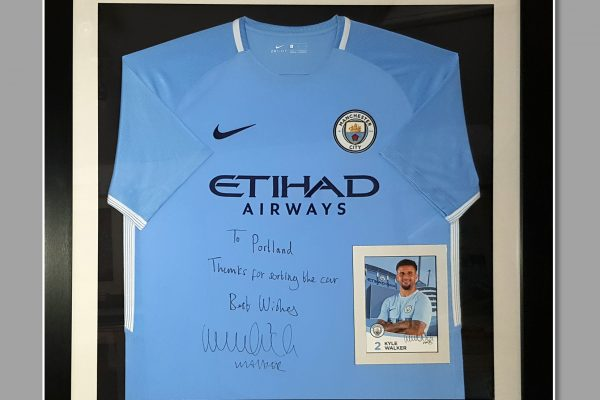 Kyle Walker - England - Framing Page