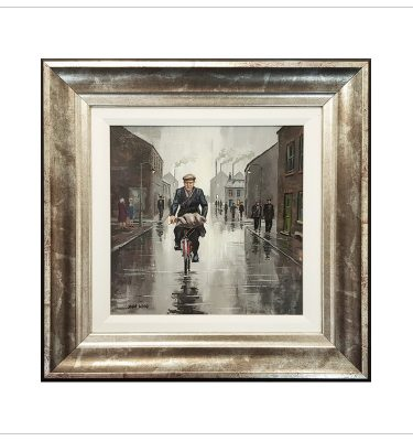 Biking Home by John Wood
