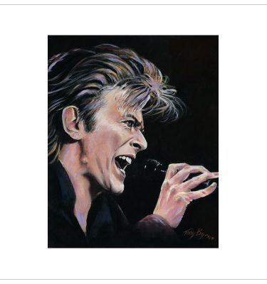 Bowie - Heroes by Tony Byrne