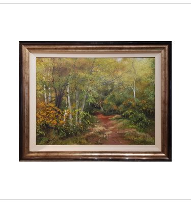 Early Autumn Clumber Woods by Margaret Jarvis