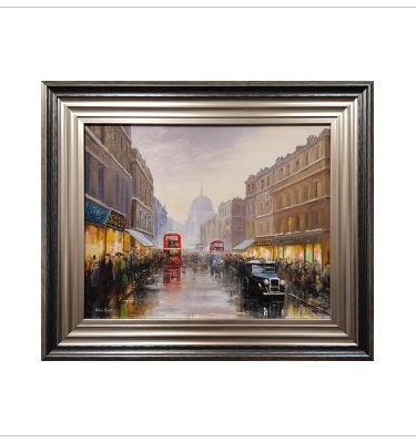Fleet Street by Michael Smart