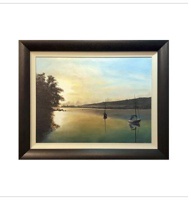 Morning Light on Ullswater by Margaret Jarvis