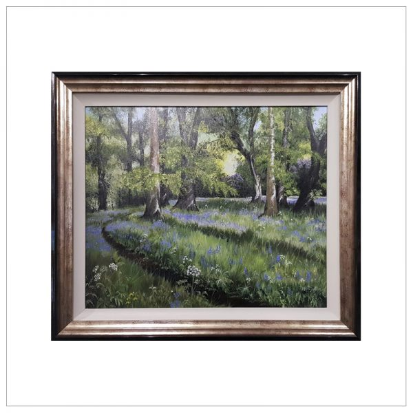 Bluebell Wood by Margaret Jarvis