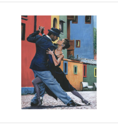 Buenos Aires Tango by Tony Byrne