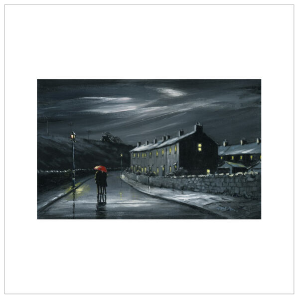 Stroll Down Pit Lane by Tony Byrne