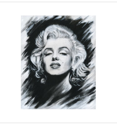 Marilyn Monroe by Tony Byrne