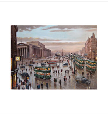 Liverpool Lime Street by Steven Scholes