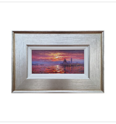 Evening Glow Venice by Andrew Grant Kurtis