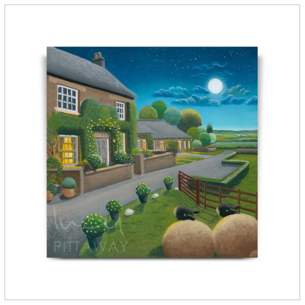 Moonlight on Mount Pleasant by Lucy Pittaway